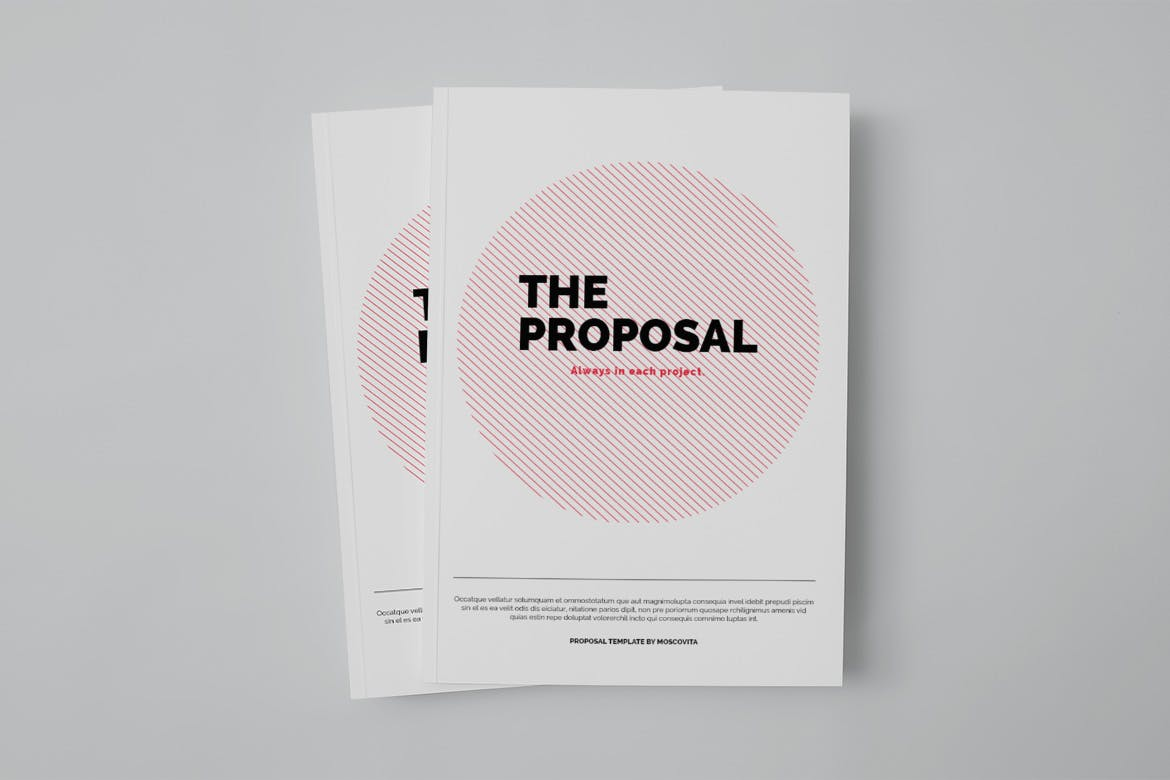 Design Proposal by moscovita on Envato Elements
