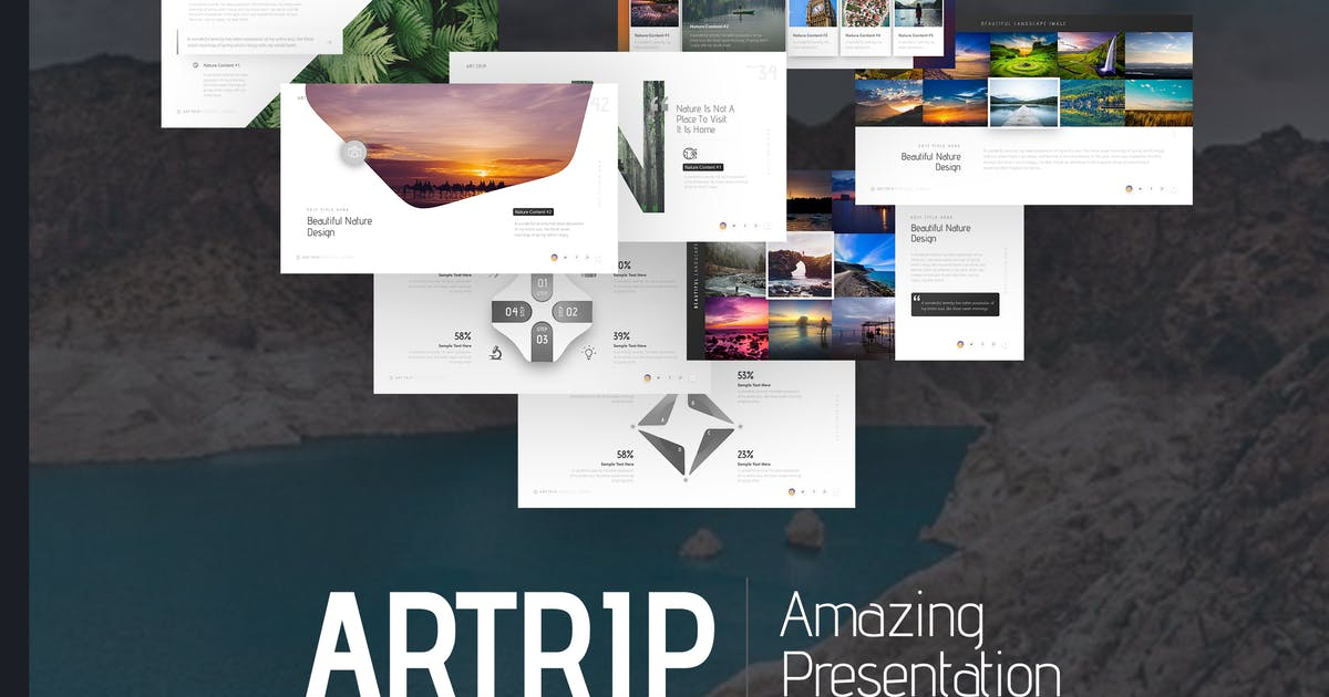 Download Artrip Amazing Presentation by BrandEarth