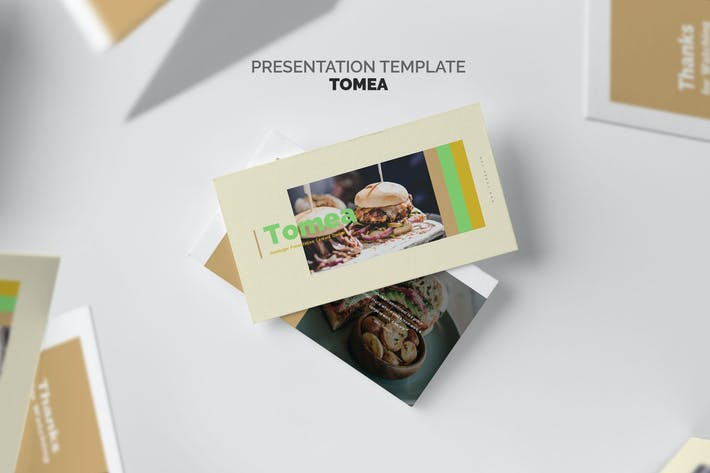 Thumbnail for Tomea : Fastfood Business Keynote