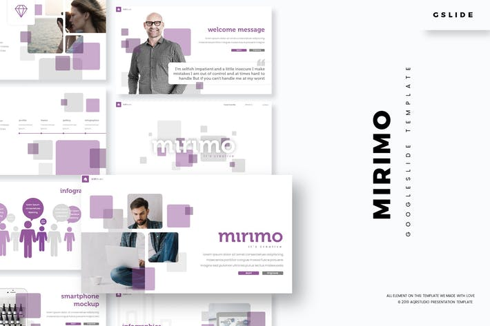 Cover Image For Mirimo - Google Slide Template