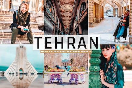 Tehran Mobile & Desktop Lightroom Presets