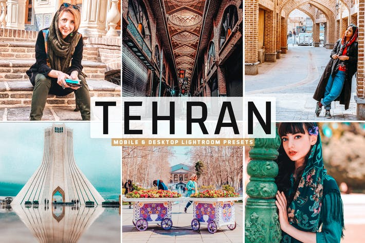 Thumbnail for Tehran Mobile & Desktop Lightroom Presets