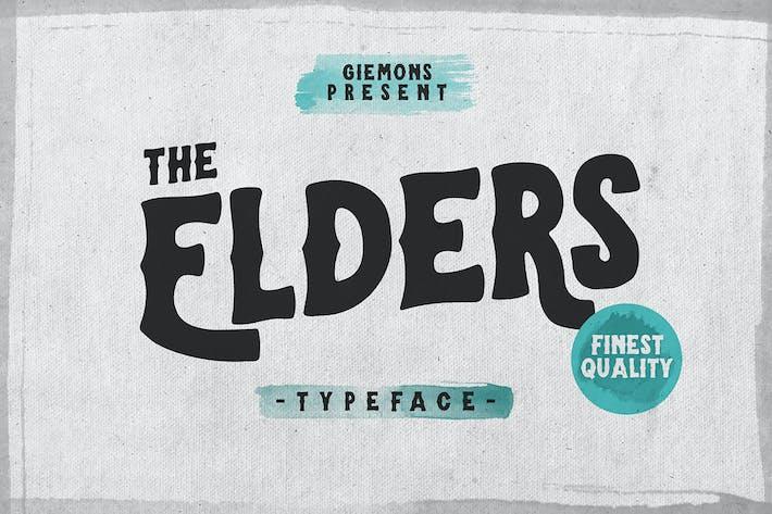 Thumbnail for Elders Typeface