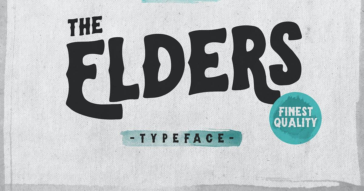 Elders Typeface by giemons