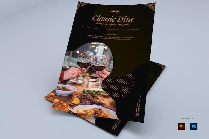 Fancy Dine - Flyers Design