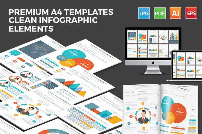 Thumbnail for Business Infographic Template