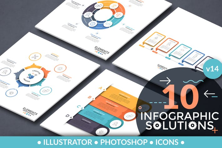 Thumbnail for Infographic Solutions. Part 14