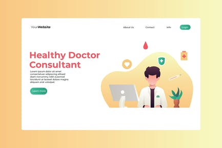 Healthy Doctor Consultant