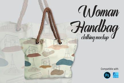 Woman Handbag   Mockup
