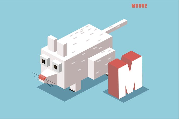 Thumbnail for M for mouse, Animal Alphabet
