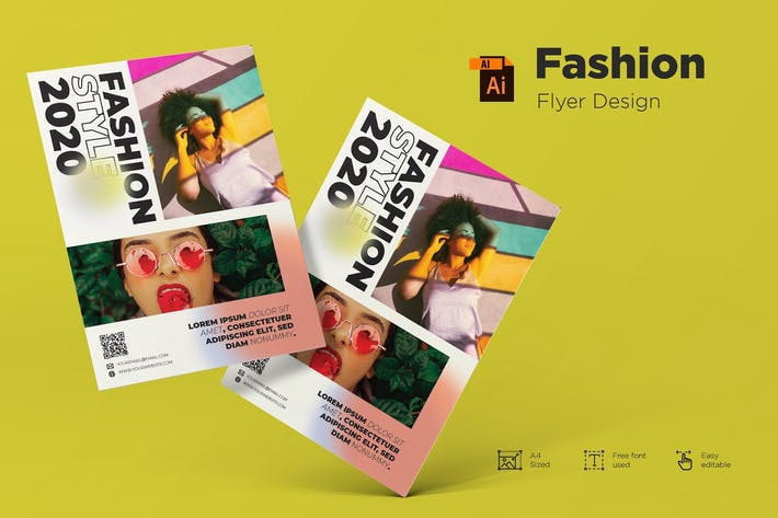 Thumbnail for Fashion - Flyer Design Template