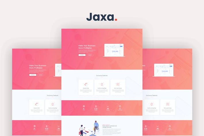 Thumbnail for Jaxa - Startup and SaaS Template