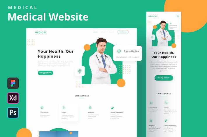 Medical - Medical Website Homepage