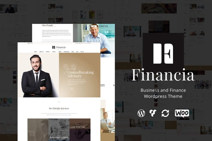 Thumbnail for Financia - Finance WordPress Theme