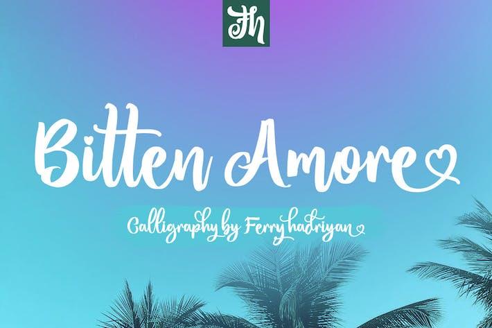 Thumbnail for Bitten Amore - Script Font
