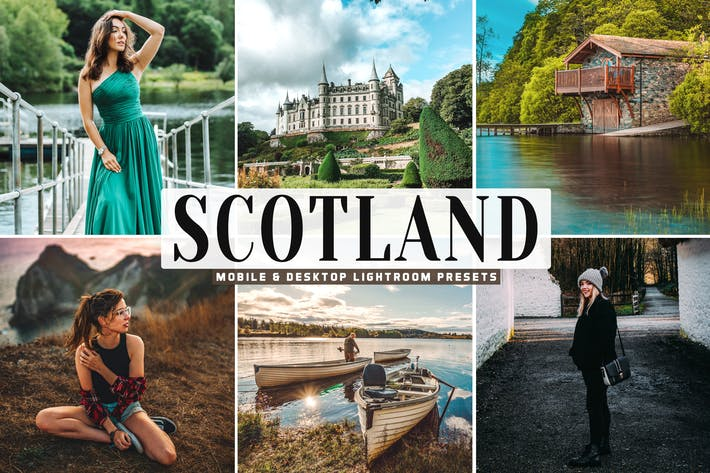 Thumbnail for Scotland Mobile & Desktop Lightroom Presets