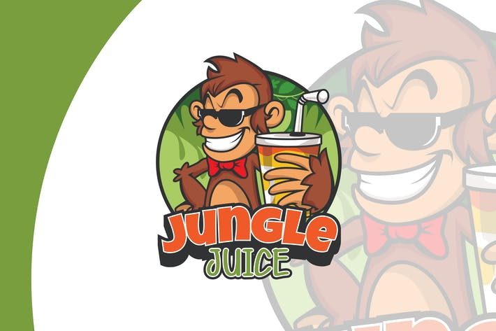 Cover Image For Jungle Juice Logo Template