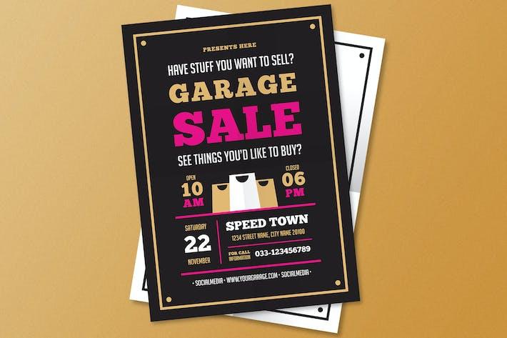 Thumbnail for dépliant de vente de garage