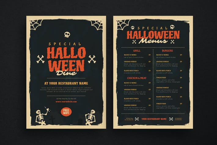 Thumbnail for Special Halloween Dine Menus