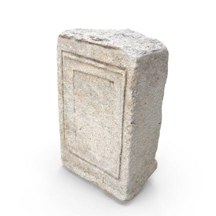 Medieval Stone Block Piece