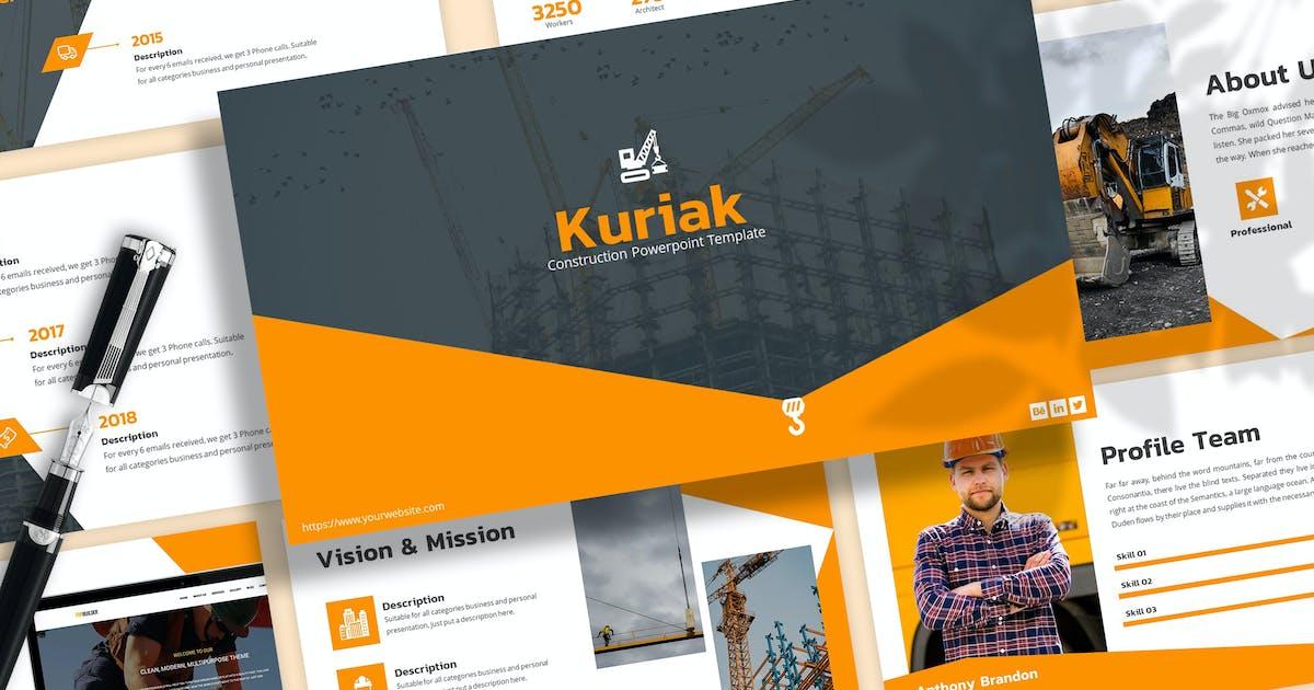 Download Kuriak - Construction Keynote Template by SlideFactory