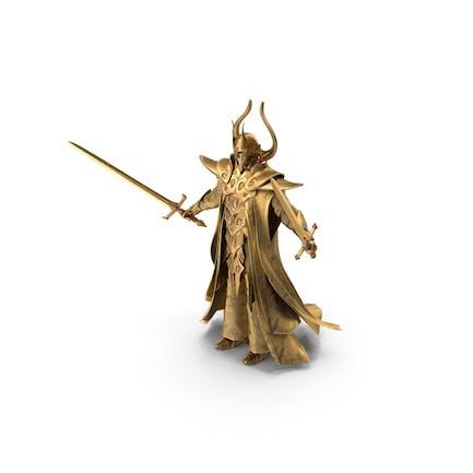 Goldener Paladin