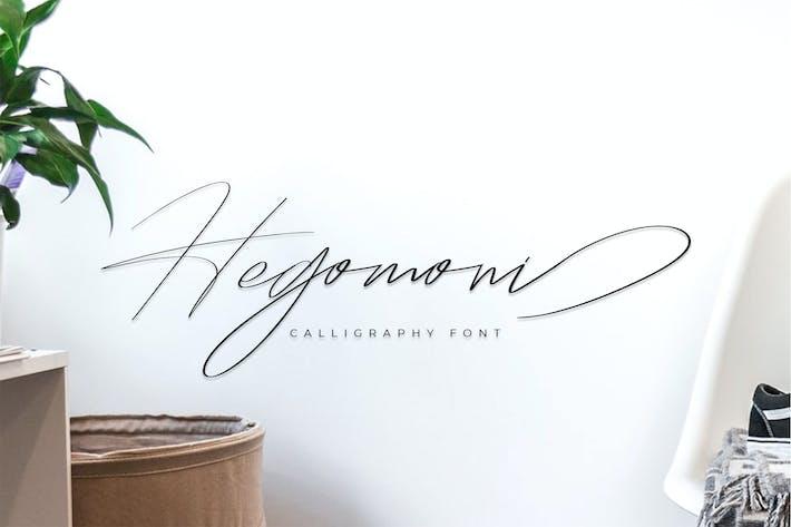 Cover Image For Signature Hegomoni