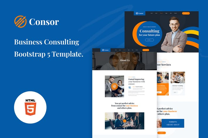 Consor - Business Consulting Bootstrap 5 Template