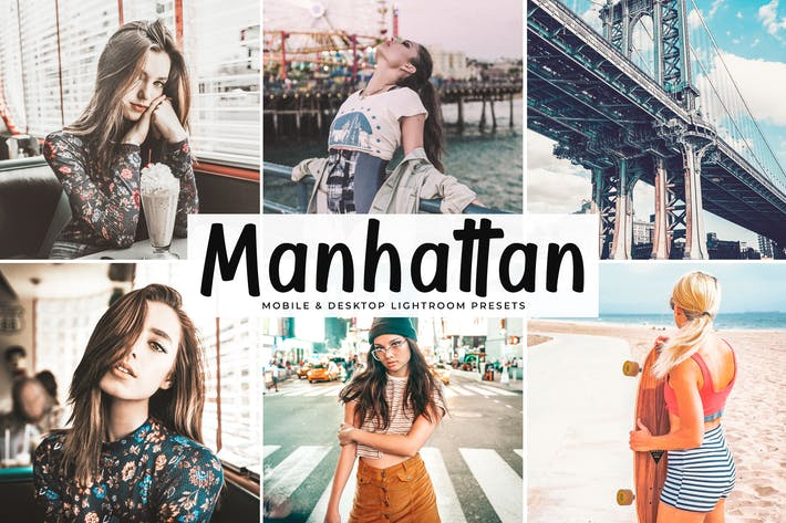 Cover Image For Manhattan Mobile & Desktop Lightroom Presets