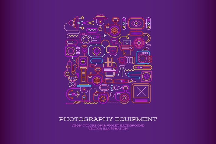 Thumbnail for Photography Equipment vector illustration