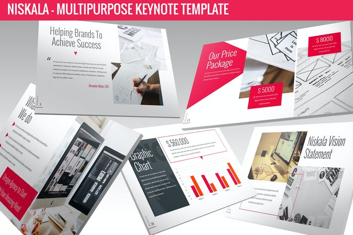 Niskala - Multipurpose Keynote Template