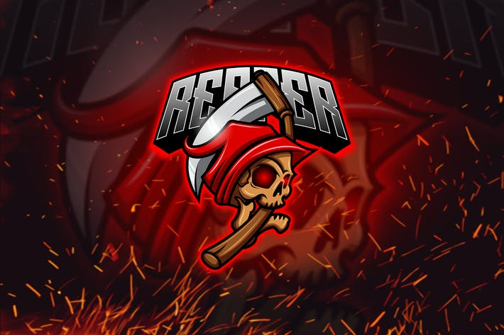 Thumbnail for Reaper - Mascot & Esports Logo YR
