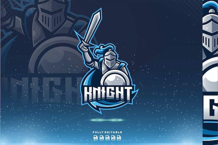 Knight Spartan Warrior Esport Gaming