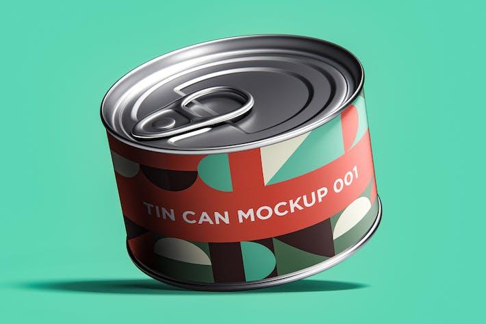 Tin Can Mockup 001