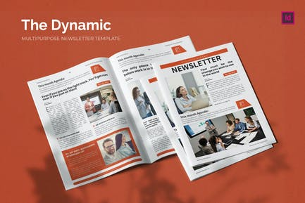 Dynamic Economy - Newsletter Template