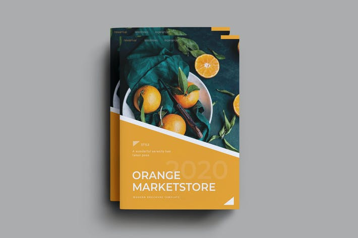 Thumbnail for Orange Marketstore Brochure