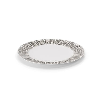 Moderner Geschirr-Teller