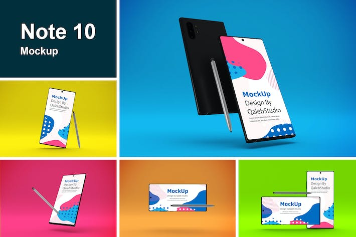 Thumbnail for Note 10 Mockup
