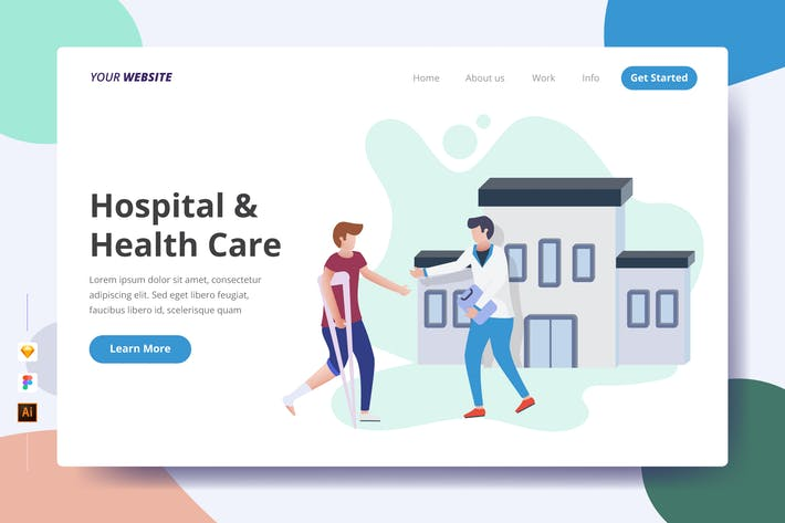 Thumbnail for Hospital & Health Care - Landing Page