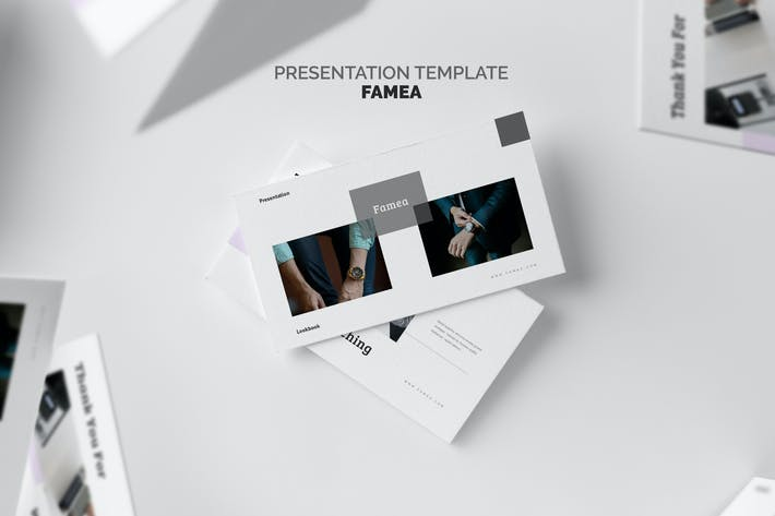 Thumbnail for Famea : Business Report Powerpoint