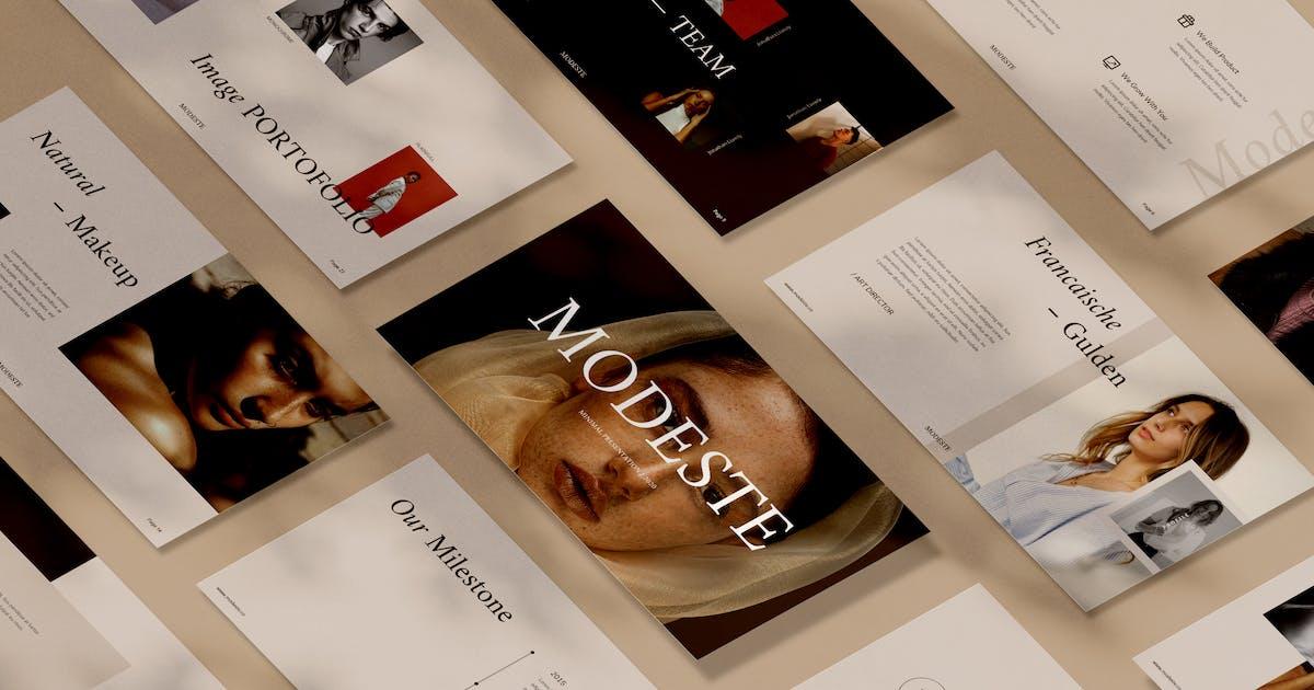 Download Modeste Keynote by visuelcolonie