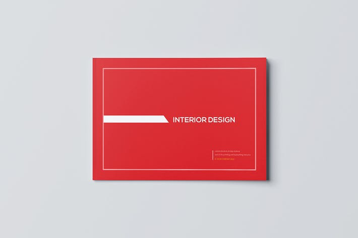 Cover Image For Interior Design Brochure