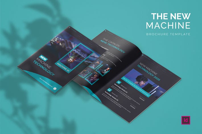 Thumbnail for New Machine Technology - Brochure Template