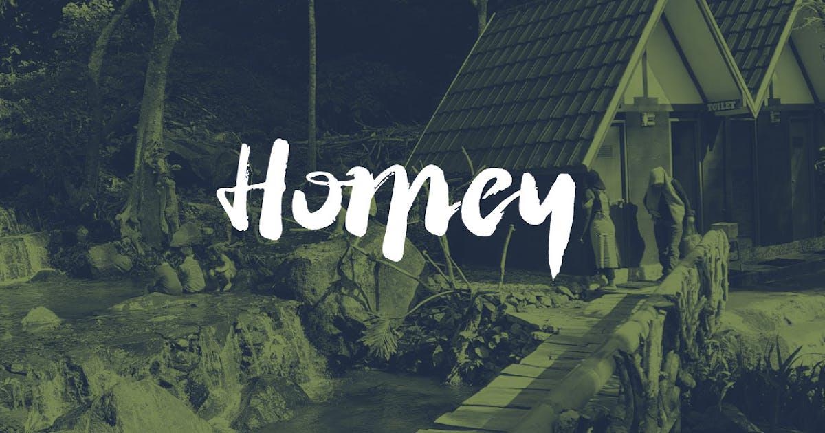 Download Homey Cursive Brush Font by sukmaraga