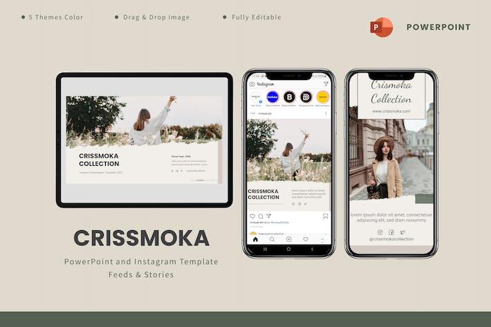 Crismoka  - Powerpoint & Instagram Template