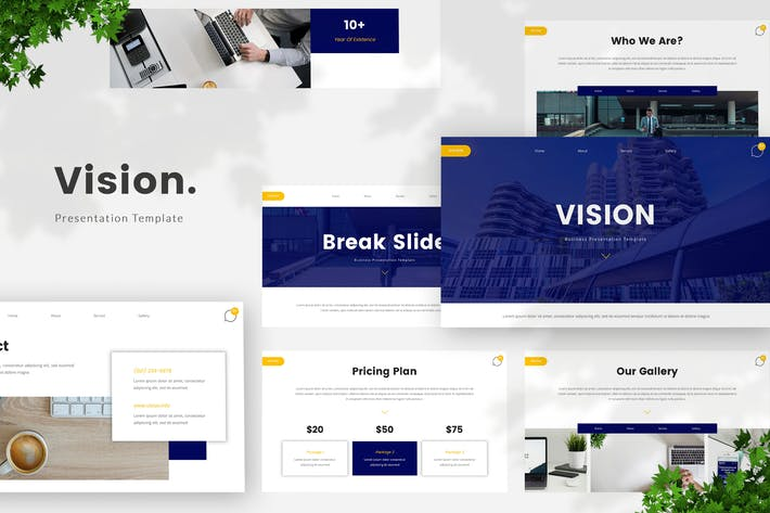 Thumbnail for Business Creative Google Slides Template