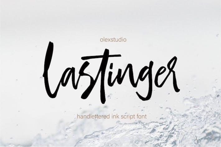Thumbnail for LASTINGER - Handlettered