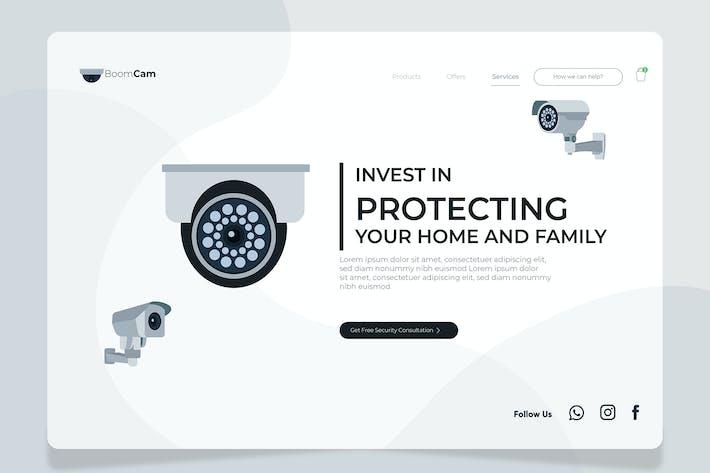 Thumbnail for CCTV - Banner & Landing Page