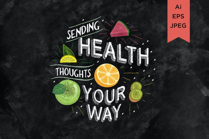 Sending Health toughts  your way