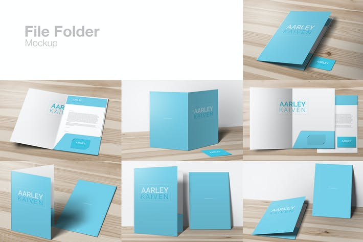 Thumbnail for File Folder Mockup